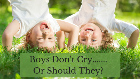 Boys Don't Cry….Or Should They?