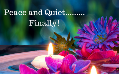 Peace and Quiet….Finally!